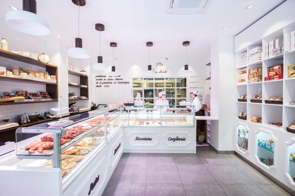 Can Martí, pastelería moderna y exclusiva